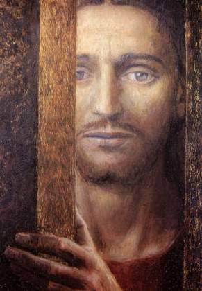 Marinetti Cristo alla porta