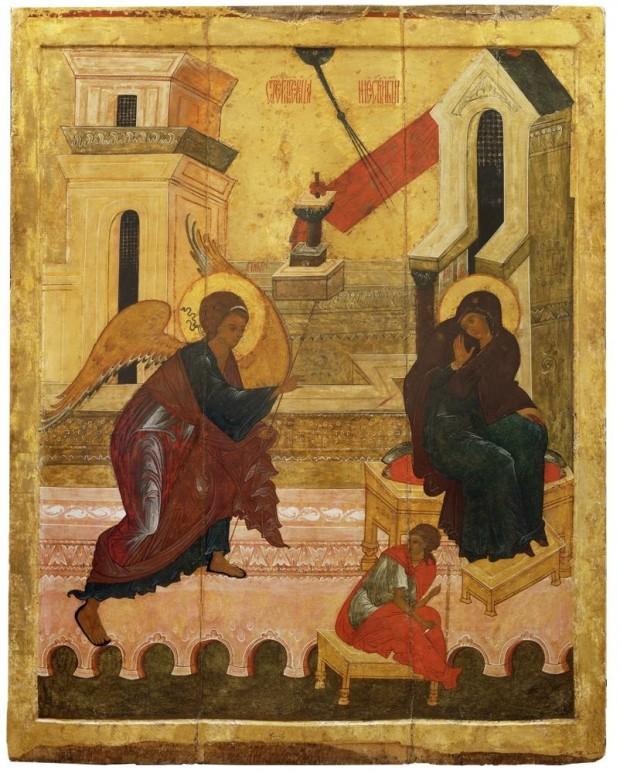 10.-Icona-dellAnnunciazione-Novgorod-XVI-secolo