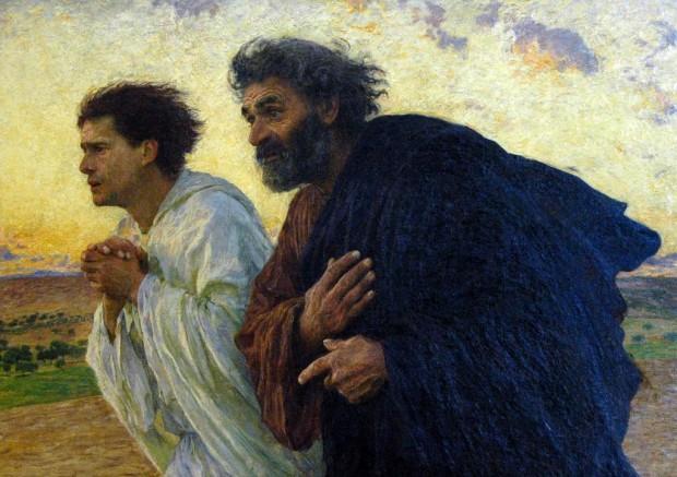eugene-burnand_pyetro-e-giovanni-corrono-al-sepolcro-il-mattino-della-risurrezione