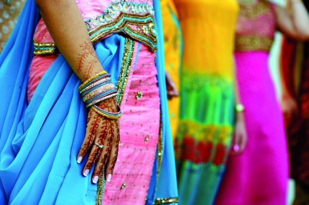 Henna Tattoos and Saris