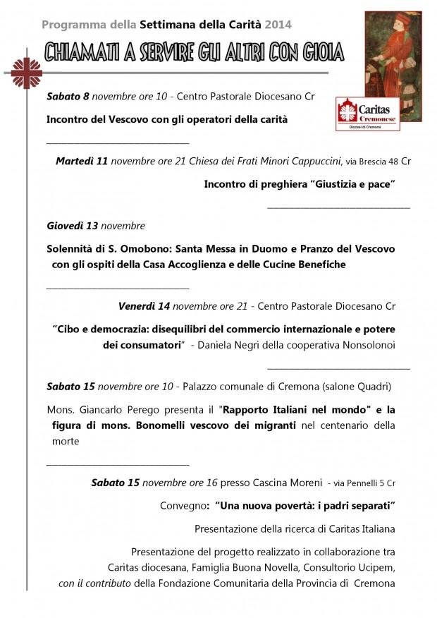 Programma-della-settimana-della-carit_-2014_