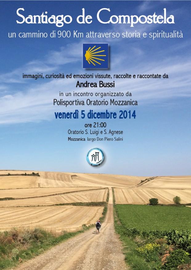 Locandina Santiago de Compostela (5-12-14)