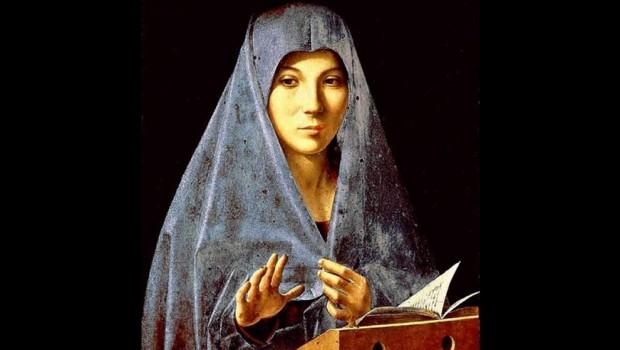L 39 annunciazione nell 39 arte parrocchia santo stefano mozzanica - Lo specchio nell arte ...