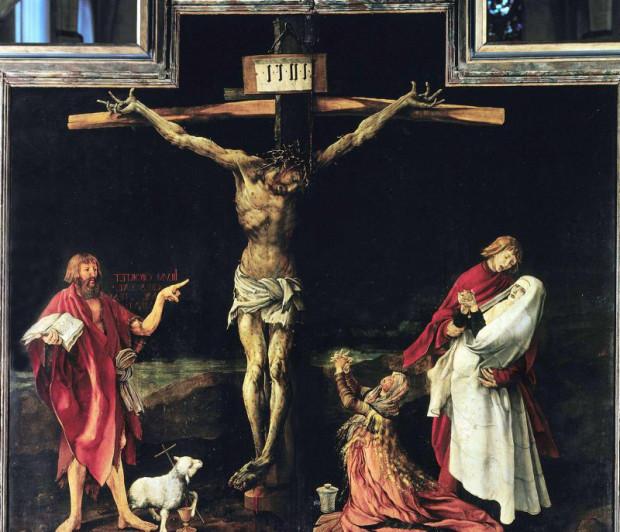 """""""La Crucifixion"""" Mathias Grunewald *** Local Caption *** 00297329"""